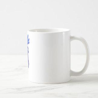 Axolotl monster Blue Coffee Mug