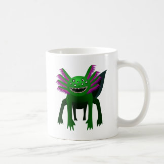 Axolotl monster Green Coffee Mug