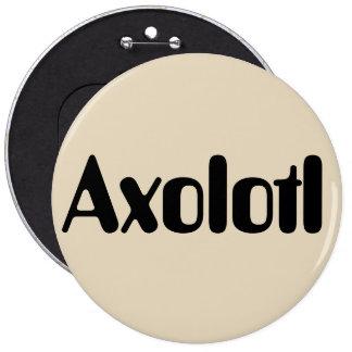 Axolotl Pinback Button
