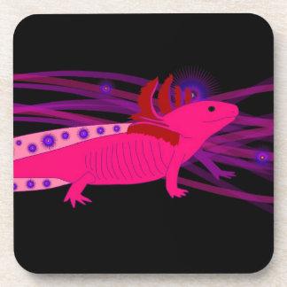 Axolotl Pinky Drink Coaster