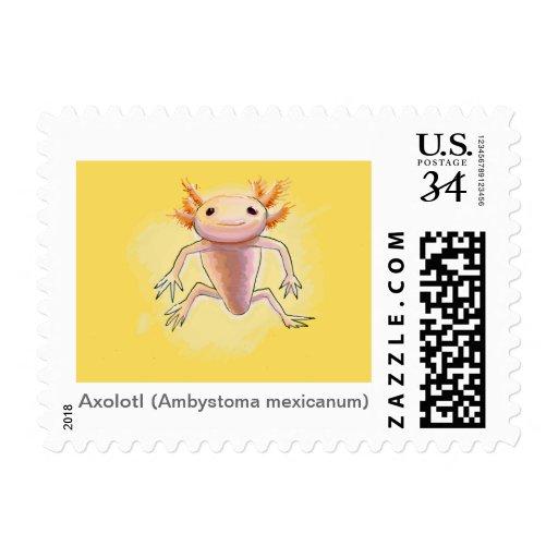 Axolotl Postage