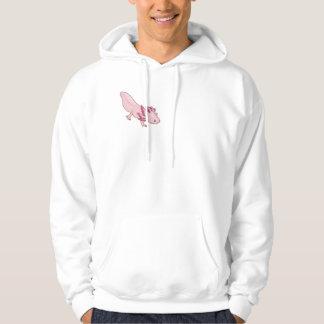 Axolotl Salamander hoodie / hooded sweatshirt