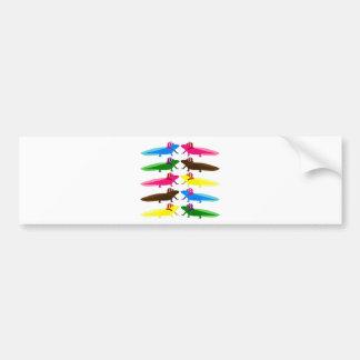 Axolotl sample bumper sticker