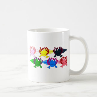 Axolotl sample frontal coffee mug