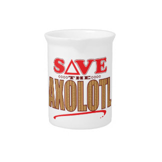 Axolotl Save Drink Pitcher