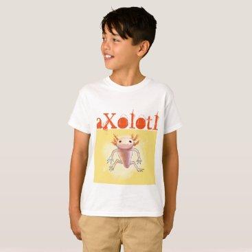 Aztec Themed aXolotl T-Shirt