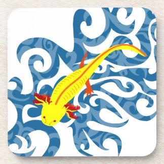 Axolotl yellow in the Wassser Coasters
