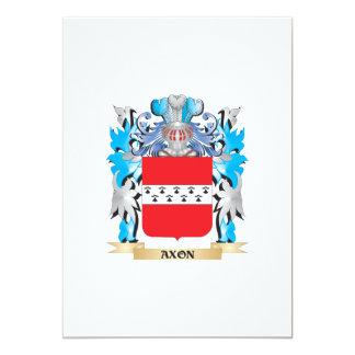 Axon Coat Of Arms 5x7 Paper Invitation Card
