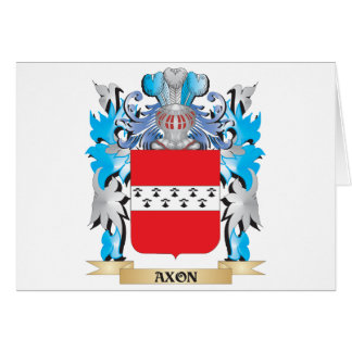 Axon Coat Of Arms Greeting Card