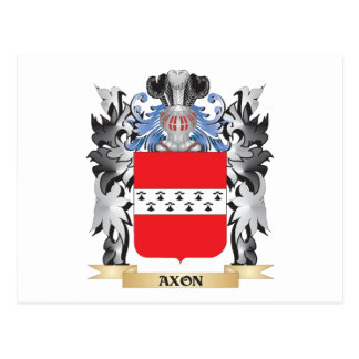 Axon Coat of Arms - Family Crest Postcard