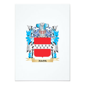 Axon Coat Of Arms 5x7 Paper Invitation Card