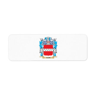 Axon Coat Of Arms Return Address Label