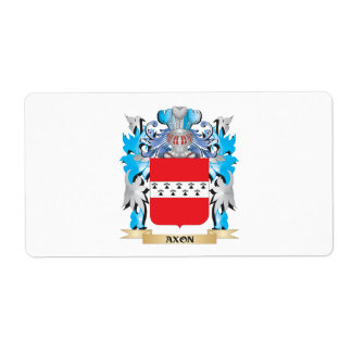Axon Coat Of Arms Shipping Label