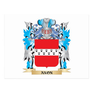Axon Coat Of Arms Postcard
