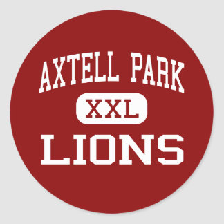 Axtell Park - Lions - Middle - Sioux Falls Round Stickers