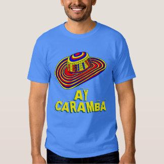 Ay caramba colorful Mexican sombrero shirt