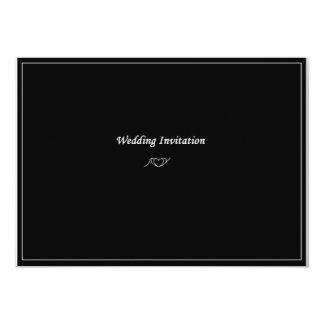 AY Monogram Wedding Invitation 13 Cm X 18 Cm Invitation Card
