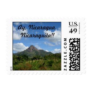 Ay, Nicaragua, Nicaraguita!! Postage