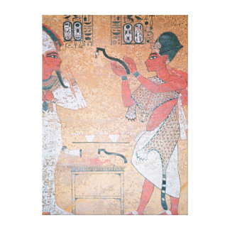 Ay performing the opening of the mouth ceremony canvas print