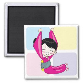 Aya-chan L-shape Square Magnet