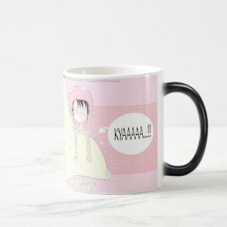 Aya in Shower Morphing Mug