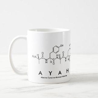 Ayah peptide name mug