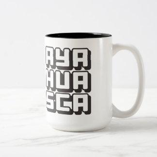 AYAHUASCA - I Love DMT & Shamanic Ceremonies, Onyx Two-Tone Coffee Mug