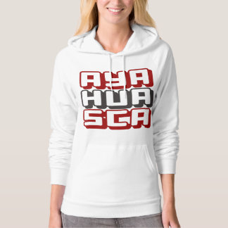 AYAHUASCA - I Love DMT & Shamanic Ceremonies, Red Hoodie