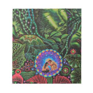 Ayahuasca Vision Bloc De Notas