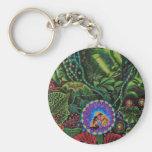 Ayahuasca Vision Keychain