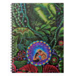 Ayahuasca Vision Spiral Note Book