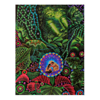 Ayahuasca Vision Tarjetas Postales