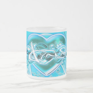 Ayaka Frosted Glass Coffee Mug