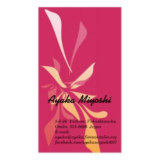 ayaka miyoshi business card