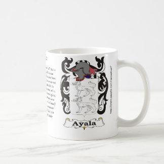 Ayala Family Coat of Arms mug