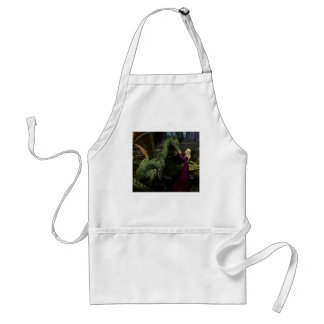 Ayana and the Dragon Adult Apron