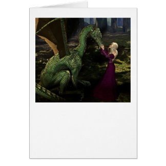 Ayana and the Dragon Greeting Card