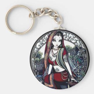 Ayanna Eastern Belly Dancer Fairy Keychain