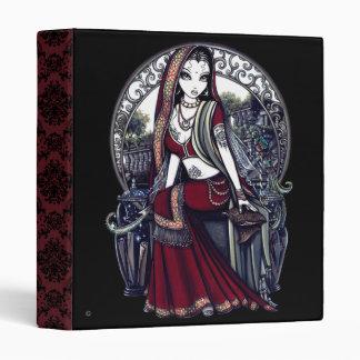 """""""Ayanna"""" Gothic Belly Dancer Fairy Art Binder"""