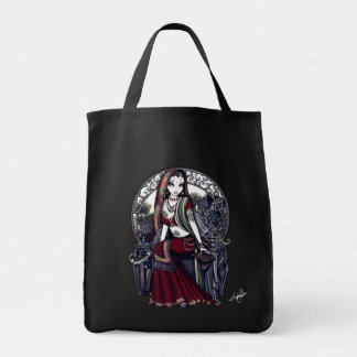 """Ayanna"" Gothic Belly Dancer Fairy Bag"