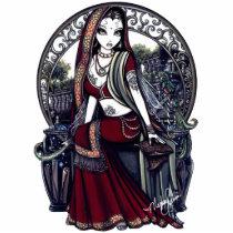 belly, dancer, eastern, garden, fairy, magic, magical, bird, tattoo, faery, fae, faerie, fairies, goddess, mystical, mystic, angelic, script, angel, gothic, fantasy, art, fine, myka, jelina, acrylic, Photo Sculpture with custom graphic design