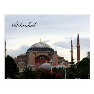 Ayasofya Museum in Istanbul Postcard