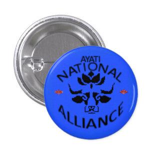 Ayati National Alliance Party Logo 1 Inch Round Button