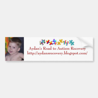 Aydan's Angels Bumper Sticker