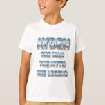 Ayden the man the myth the legend first name T-Shirt