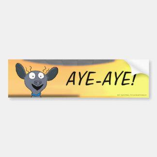 Aye-Aye! Bumper Sticker
