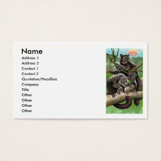Aye-Aye Business Card