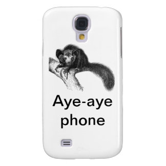 Aye-aye Phone Case Galaxy S4 Cover