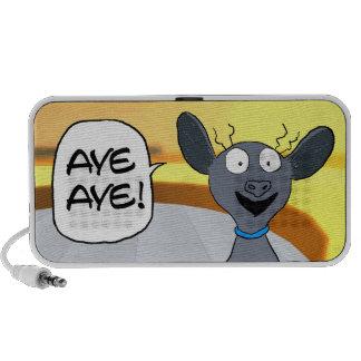 Aye-Aye! Speaker