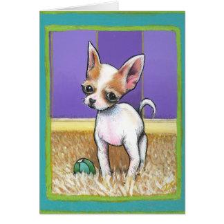 Aye Chihuahua greeting card